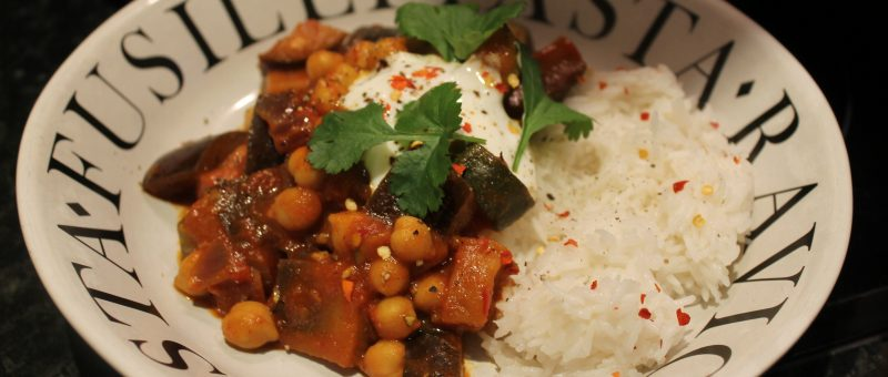 spicy bean and vegetable stew
